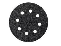 Round perforated sanding sheets