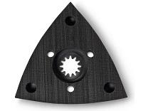 sanding pad, perforated